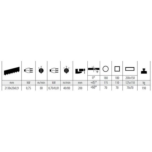 Tračna žaga MEP PH 211-1
