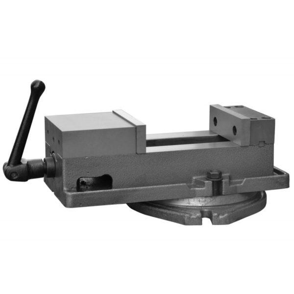 CNC strojni primež 125mm, vrtljivi 1
