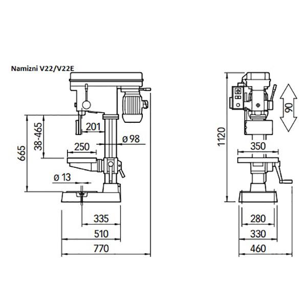 Namizni V22-V22E