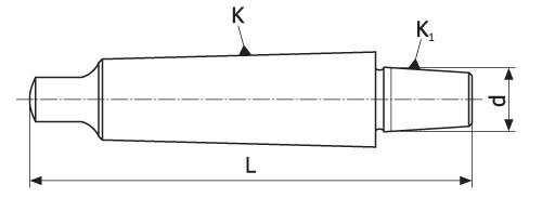 Trn za vrtalno glavo MK4-B18