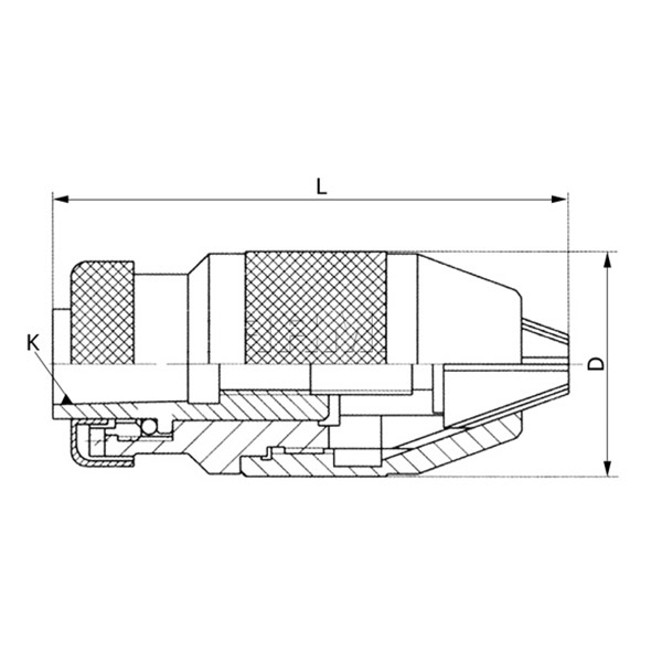 Vrtalna glava 1-13mm/B18 1