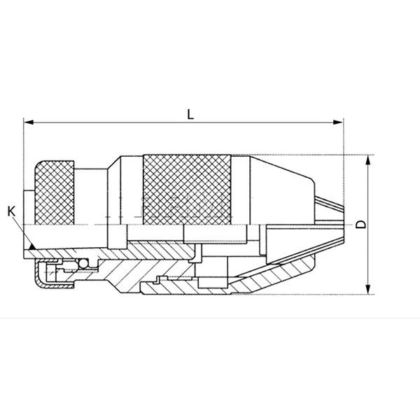 Vrtalna glava 3-16mm/B18 1